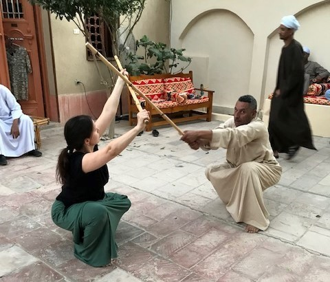 Tahtib, as most of you probably know, is one of the oldest martial arts in the world (more than 5,000 years old) from Ancient Egypt.